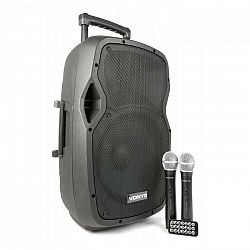 Vonyx AP1200PA mobilné PA zariadenie 30 cm (12'') bluetoothUSB SD MP3 VHFnabíjacia batéria
