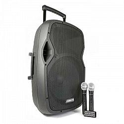 Vonyx AP1500PAmobilné PA zariadenie 38 cm (15'') bluetoothUSB SD MP3 VHFnabíjacia batéria