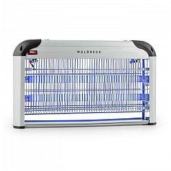 Waldbeck Mosquito Ex 5000, lapač hmyzu, 38 W, UV svetlo, 150 m², strieborný