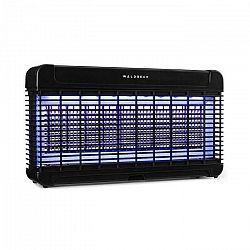 Waldbeck Mosquito Ex 9500 LED, lapač hmyzu, 13 W, 300 m², LED diódy, zachytávacia miska, reťaz, čierny
