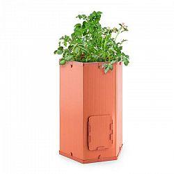 Waldbeck Potatoe-Pro, črepník na pestovanie zemiakov, vysúvateľný kryt zberného okienka, terakota