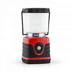 Yukatana Yequuleus, červená, kempingová LED lucerna, rohová, 600 lumenov